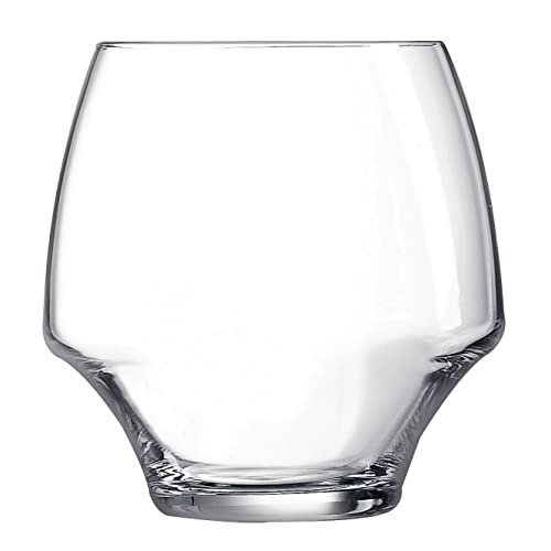 Chef & Sommelier 8011787.0 Open Up Kwarx Low Clear Stemless Glasses38cl (Pack of 6)