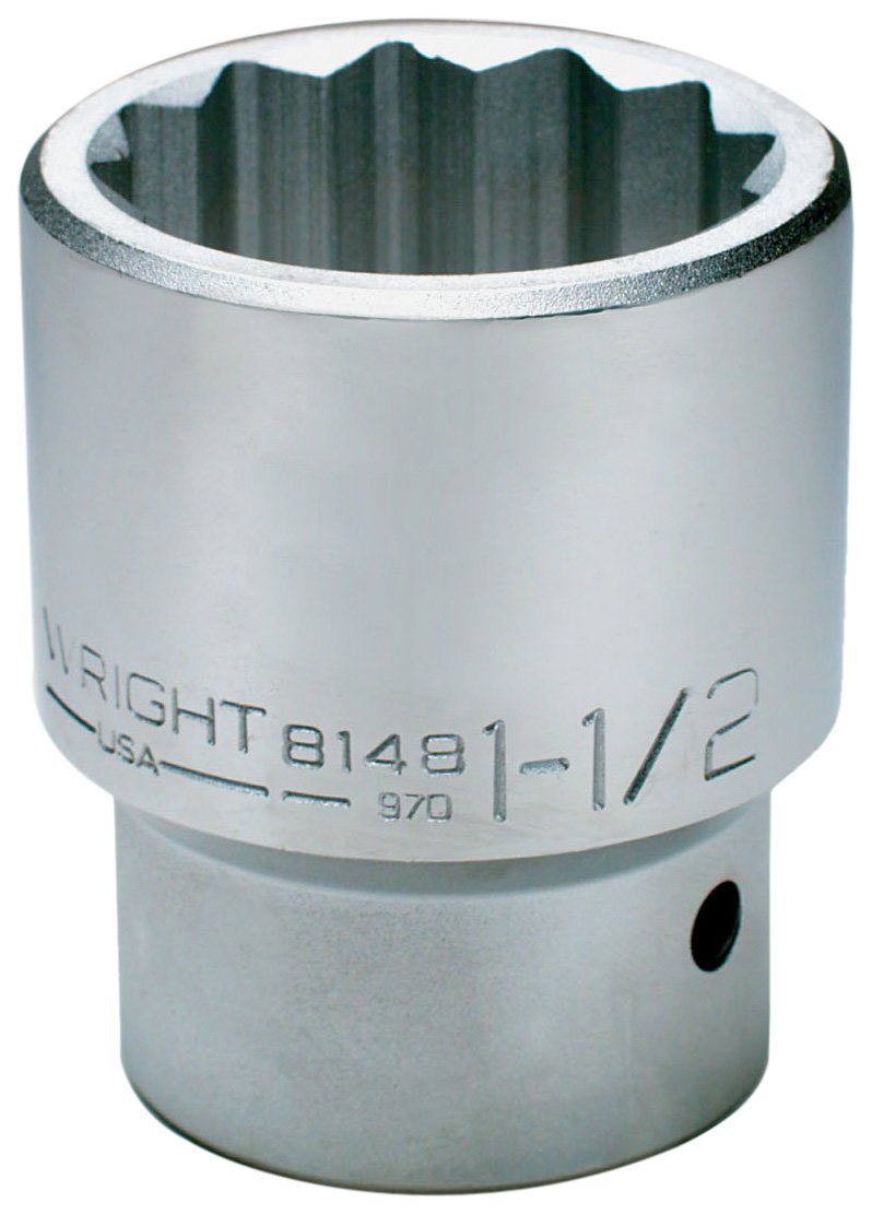 Wright Tool 8198 3-3/8-Inch with 1-Inch Drive 12 Point Standard Socket by Wright Tool B002GK9G98