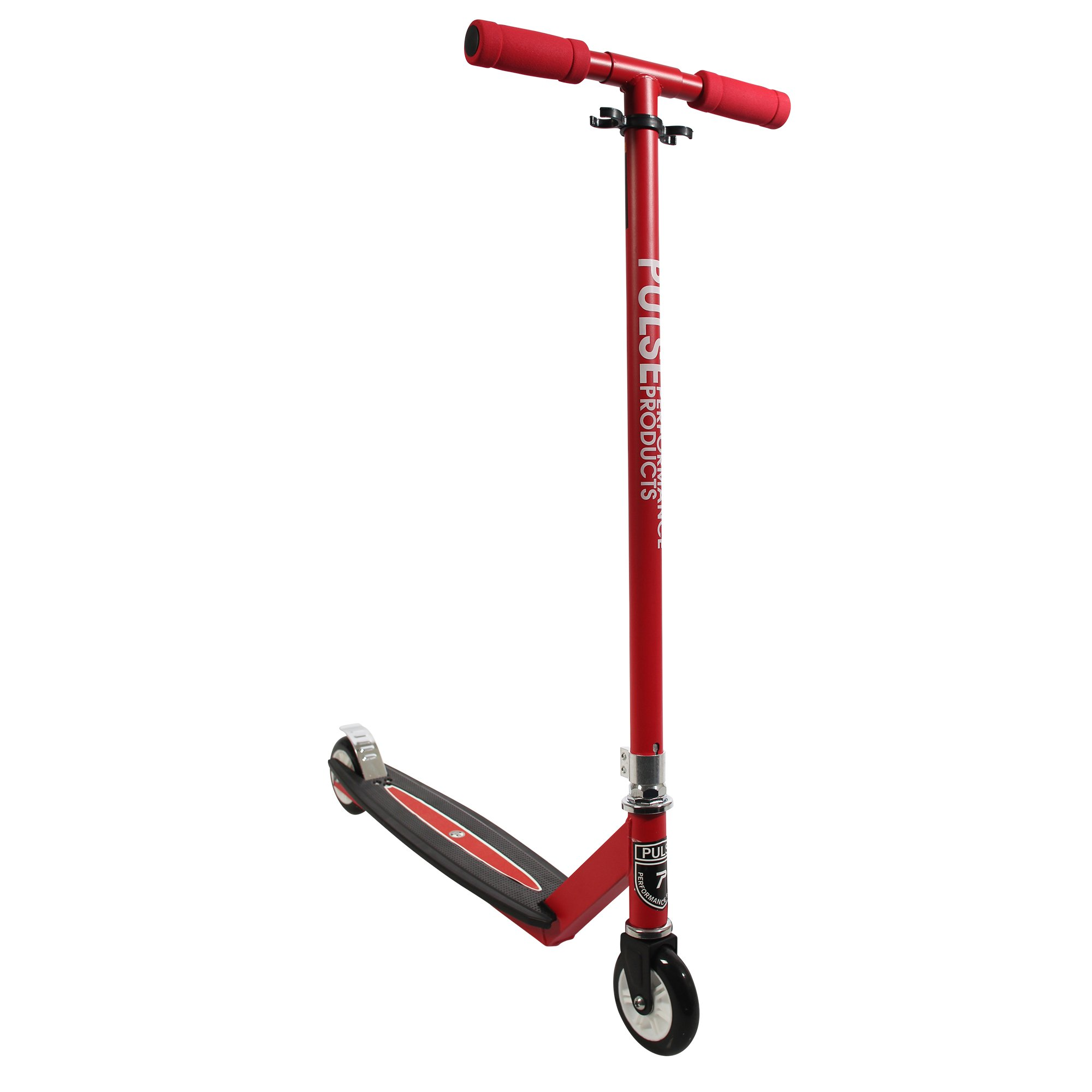 Pulse Performance Products S-100 Freestyle Scooter - Beginner Kick Pro Scooter for Kids - Red by Pulse Performance Products