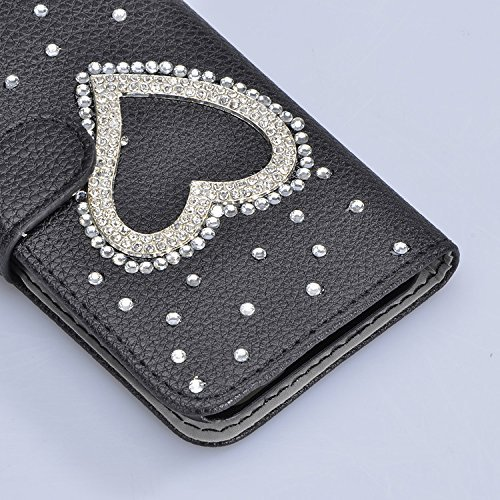 Sunroyal Funda para ZTE Grand X Max 2 / ZMax Pro PU Leather Cuero Flexible Suave Case [Anti-Gota] Ultra Slim Bookstyle Flip Caso Carcasa Cierre Magnético,Función de Soporte,Billetera con Tapa para Tar A-20