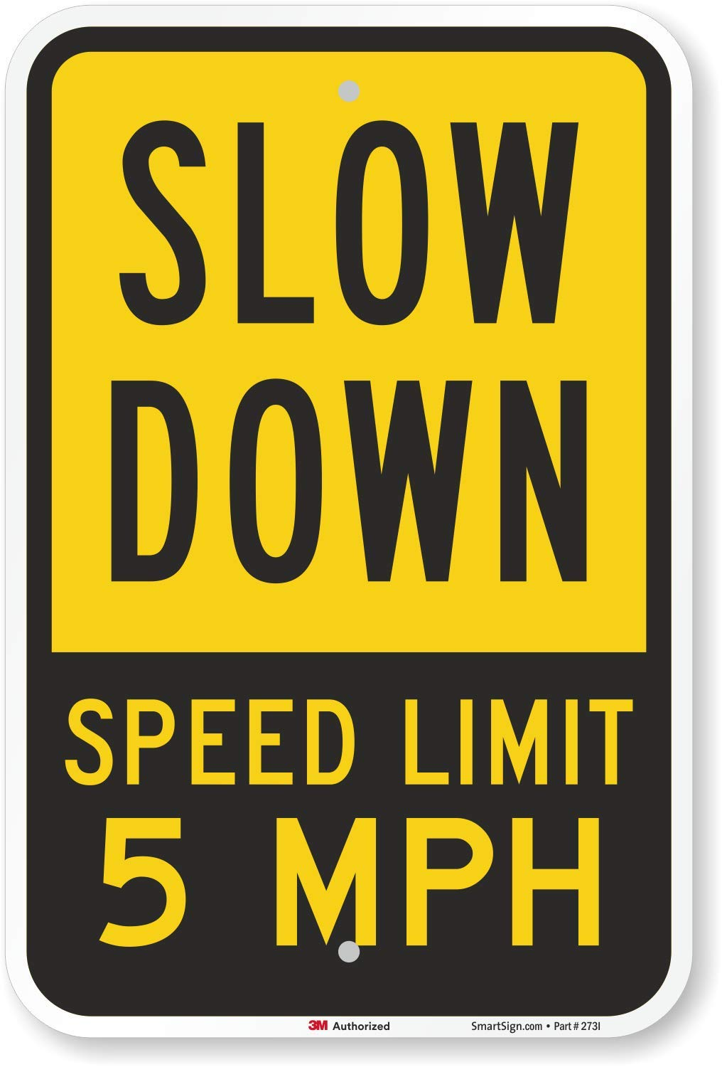 SPEED LIMIT 30 mph Outdoor Metal sign slow warning traffic road street