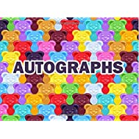 Autographs: Yummy Gummy Bears Candy Autograph Book for Kids & Adults With 100 Blank Pages