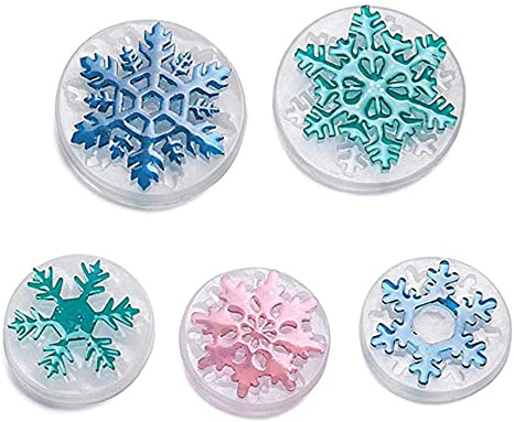 Resin Casting Mold Epoxy Silicone  Molds Crystal Mould Christmas Ornament Mould