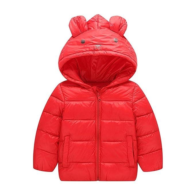 Kukul Estilo oso Ropa de abrigo para Niños y Niñas Otoño / invierno Abrigos 2-