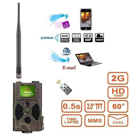 Ydq Cámara De Caza (Infrarroja, HD, 16 MP, SMS SMTP, GPRS