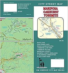 Mariposa / Oakhurst / Yosemite National Park, California ...