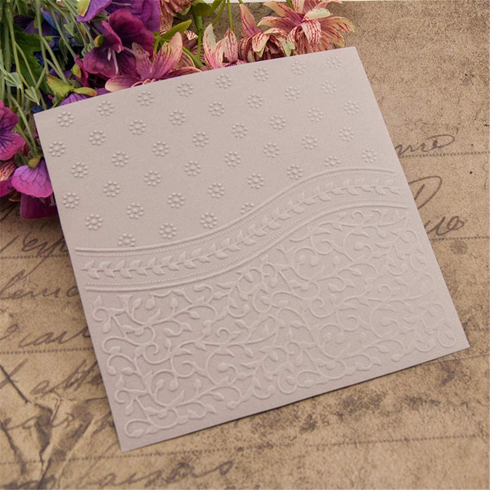 Tooeary Plastic Paper Crafts DIY Scrapbooking Embossing Folder Stencils Photo Album Decoration Template 65