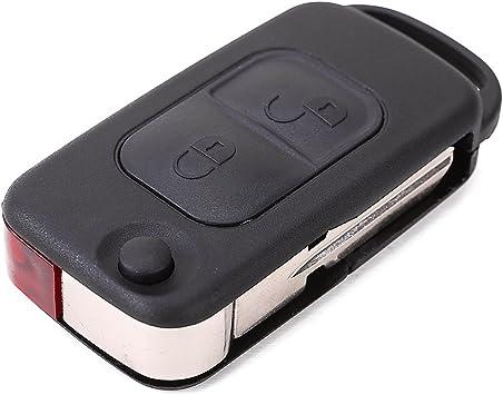 Surepromise One Stop Solution For Sourcing 2 Tasten Klappschlüssel Schlüssel Gehäuse Ersatz Autoschlüssel Schlüsselgehäuse Auto
