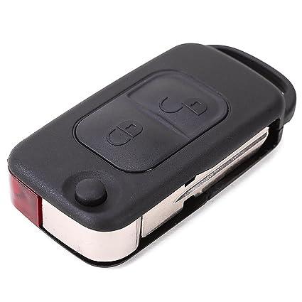 Carcasa para llave de repuesto plegable con dos botones ...