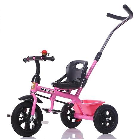 QWM-Las bicicletas infantiles para bebés Multifuncional de la bicicleta del triciclo del bebé del