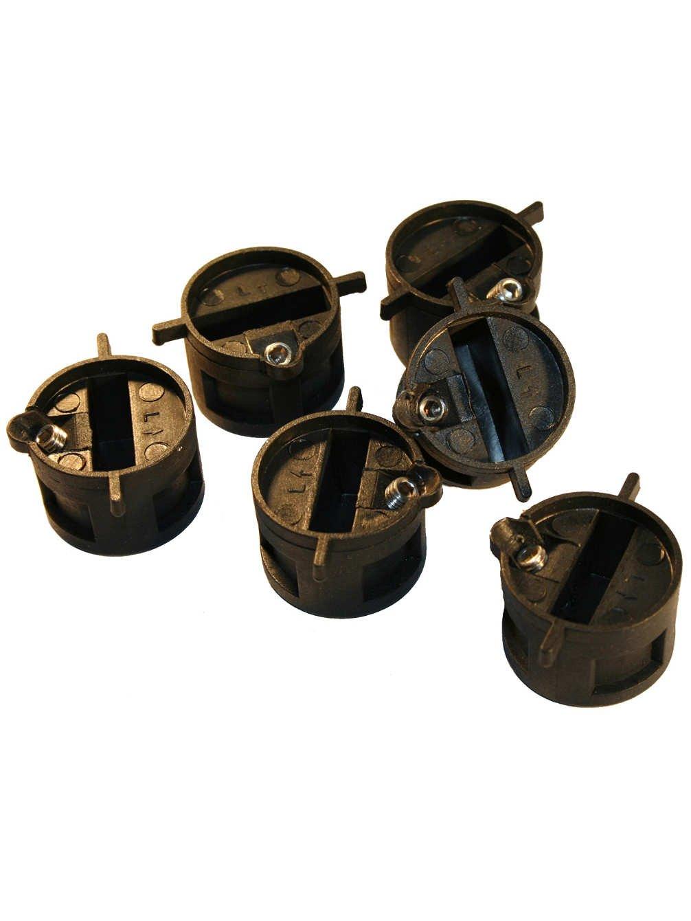 FCS Compatible Fin Plug Set (6 Pcs) Northcore*