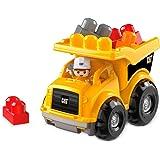 Mega Bloks Camión de Volteo CAT Construcción Bloques