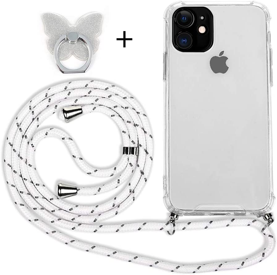 Funda con Cuerda para iPhone 11, Carcasa 6.1