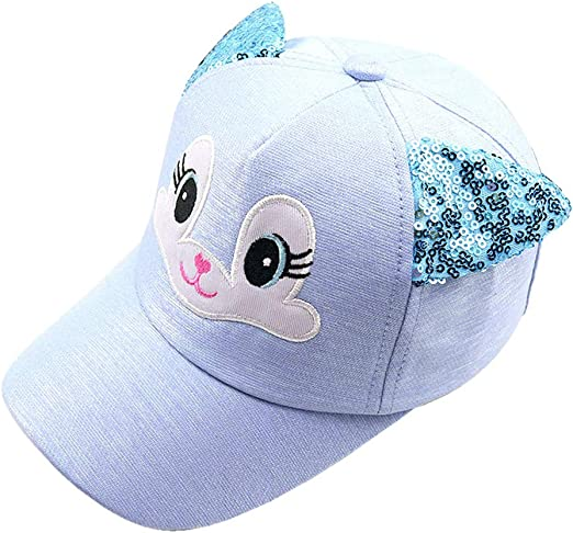 JOYKK Bebé Sombreros de Dibujos Animados Niño Corea Gato Gorras de ...