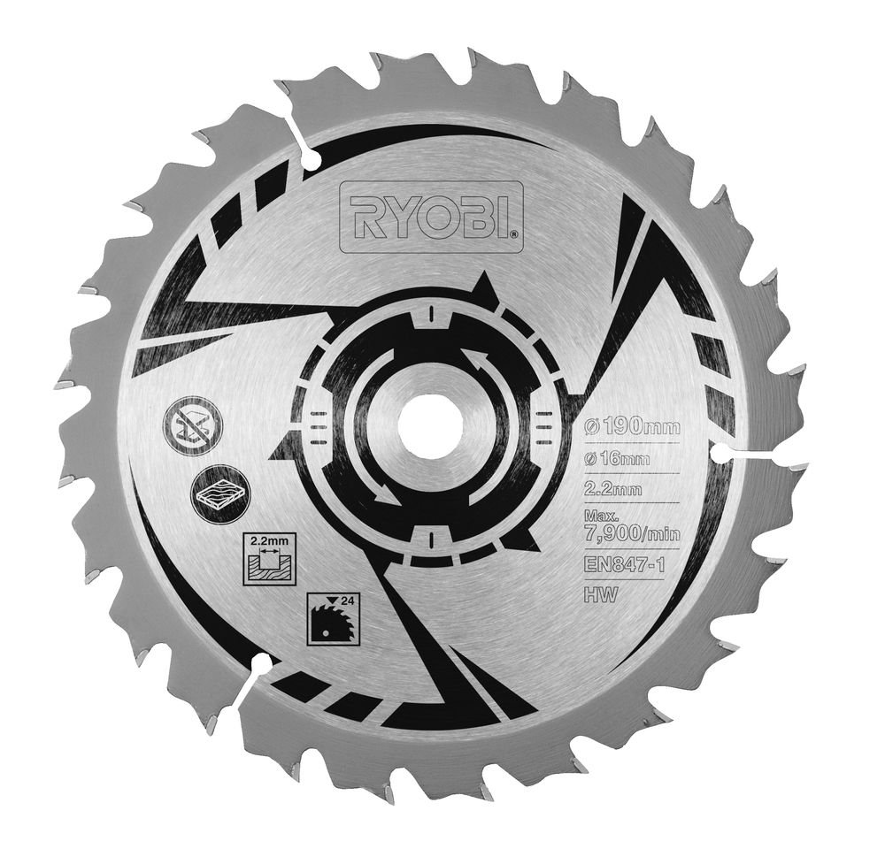 Ryobi csb190a1 circular saw blade for all 190 x 20 mm circular saws ryobi csb190a1 circular saw blade for all 190 x 20 mm circular saws 190 mm amazon diy tools keyboard keysfo Image collections