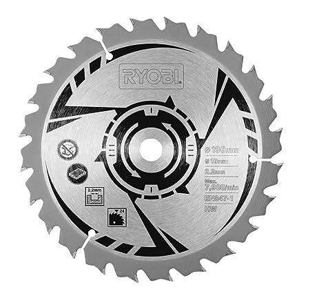 Ryobi csb190a1 circular saw blade for all 190 x 20 mm circular ryobi csb190a1 circular saw blade for all 190 x 20 mm circular saws 190 mm keyboard keysfo Images