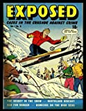 img - for Exposed #8: Golden Age Crime Comic 1949 book / textbook / text book
