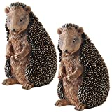 Design Toscano Halsey the Hedgehog Statue – Set of Two For Sale