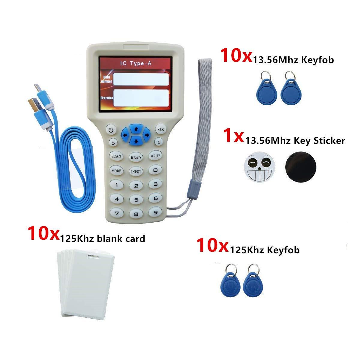 Duplicador de Lector de Tarjetas RFID NFC, para Tarjetas de ...