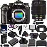 Pentax K-1 DSLR Camera #19568 (International Model) + Pentax 17-70mm f/4 AL (IF) SDM Autofocus Lens + D-LI90 Replacement Lithium Ion Battery + 128GB SDXC Class 10 Memory Card Bundle