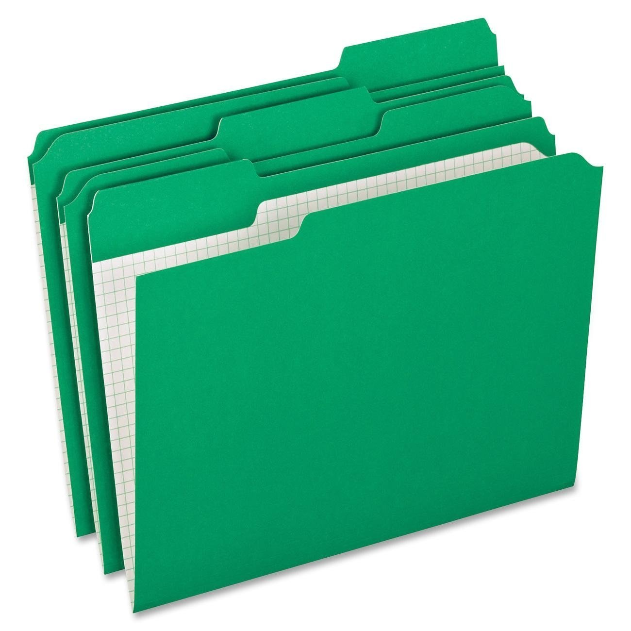 Pendaflex Top Tab Colored Folders, 100 per Box (PFXR152 1/3 BGR) 2-Pack Green