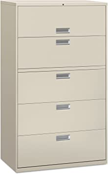 Amazon Com Alelf4267lg Five Drawer Lateral File Cabinet