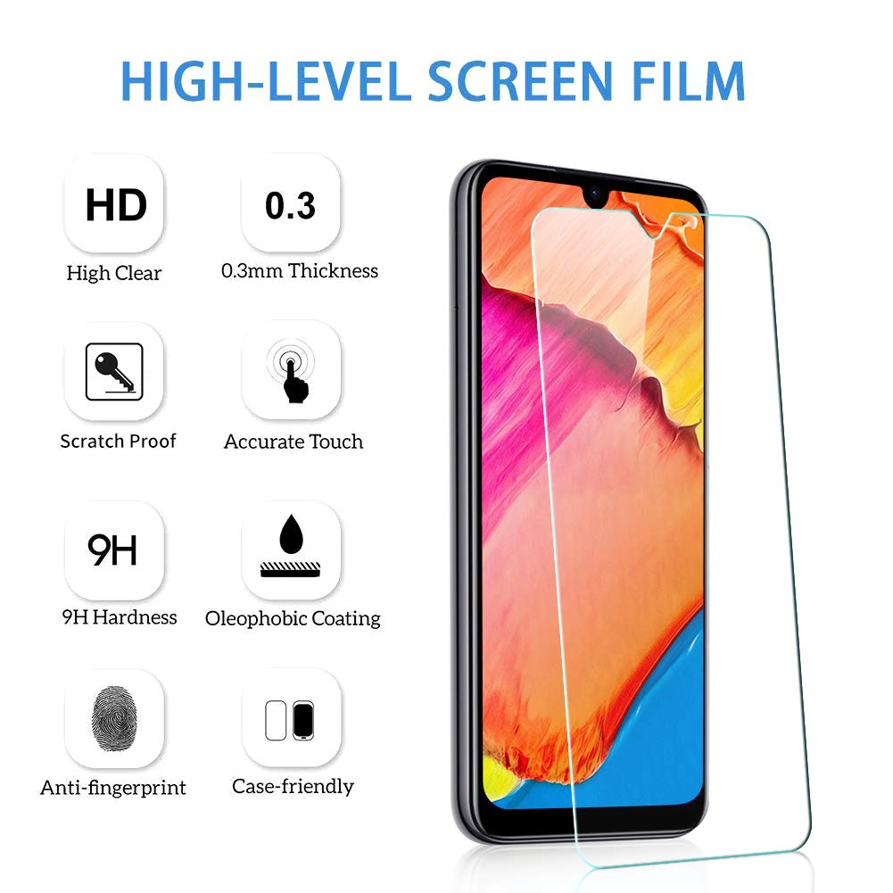Alta Definicion, Sin Burbujas, 9H Dureza, Anti-Ara/ñazos IRROT Protector de Pantalla para Xiaomi Mi 9T, Cristal Templado Xiaomi Mi 9T 3 Piezas