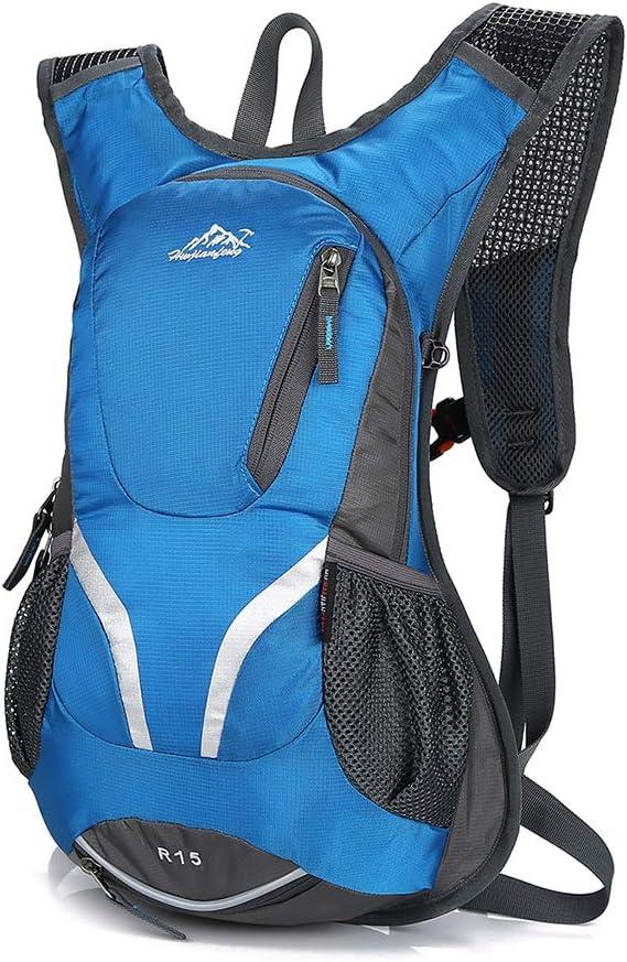 Nysunshine - Mochila para Bicicleta de montaña (15 L, con Soporte para Casco): Nysunshine: Amazon.es: Hogar