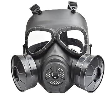 myheartgoon Airsoft paintbal Dummy Ventilador de la máscara de gas para la protección de Cosplay Zombie