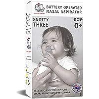 SNOTTY Electric Nasal Aspirator, Blue, Small