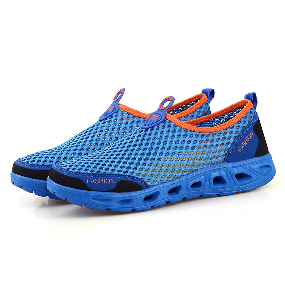AIRAVATA Water Shoes Men and Women Summer Slip 0n Quick Dry Lightweight Breathable Mesh Athletic Sneakers for Beach Swimming