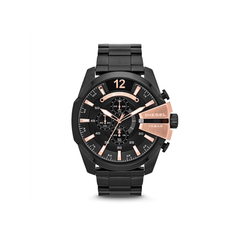 88ad64a60b Amazon   DIESEL(ディーゼル) 【新品】腕時計 MEGA CHIEF メガチーフ DZ4309 クロノグラフ メンズ   メンズ腕時計    腕時計 通販