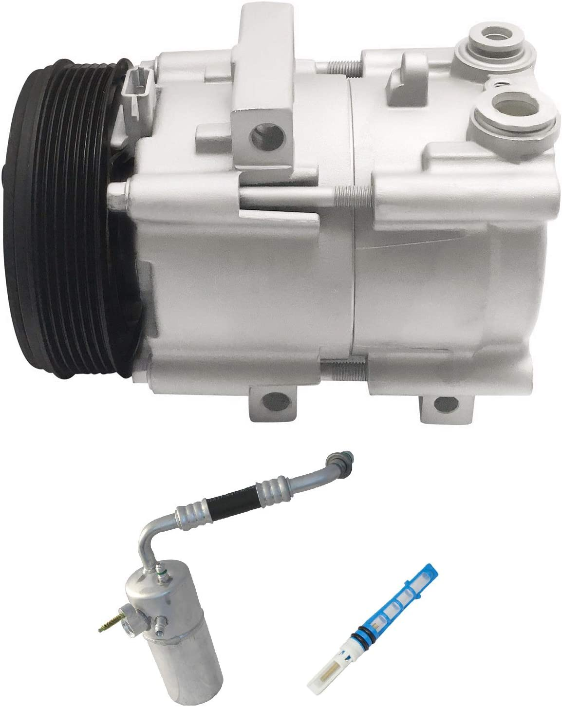 RYC Remanufactured AC Compressor Kit KT DA16