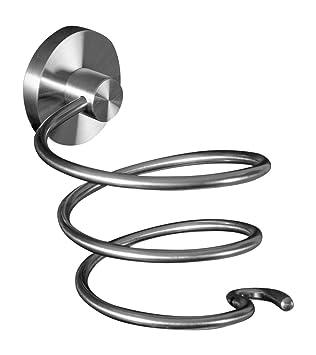 Ambrosya® | Exclusivo Porta secador de Pelo de Acero Inoxidable | Cuarto de baño Secador de Pelo Titular Inodoro (Acero Inoxidable (Cepillado)): Amazon.es: ...