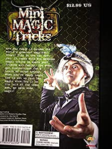 Scholastic GIFT SET Mini Magic Tricks 48 page Book + 5 Mini Magic Tricks GIFT SET