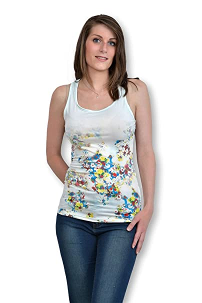 Camiseta de tirantes para mujer sin mango-Camiseta de tirantes para mujer talla única,