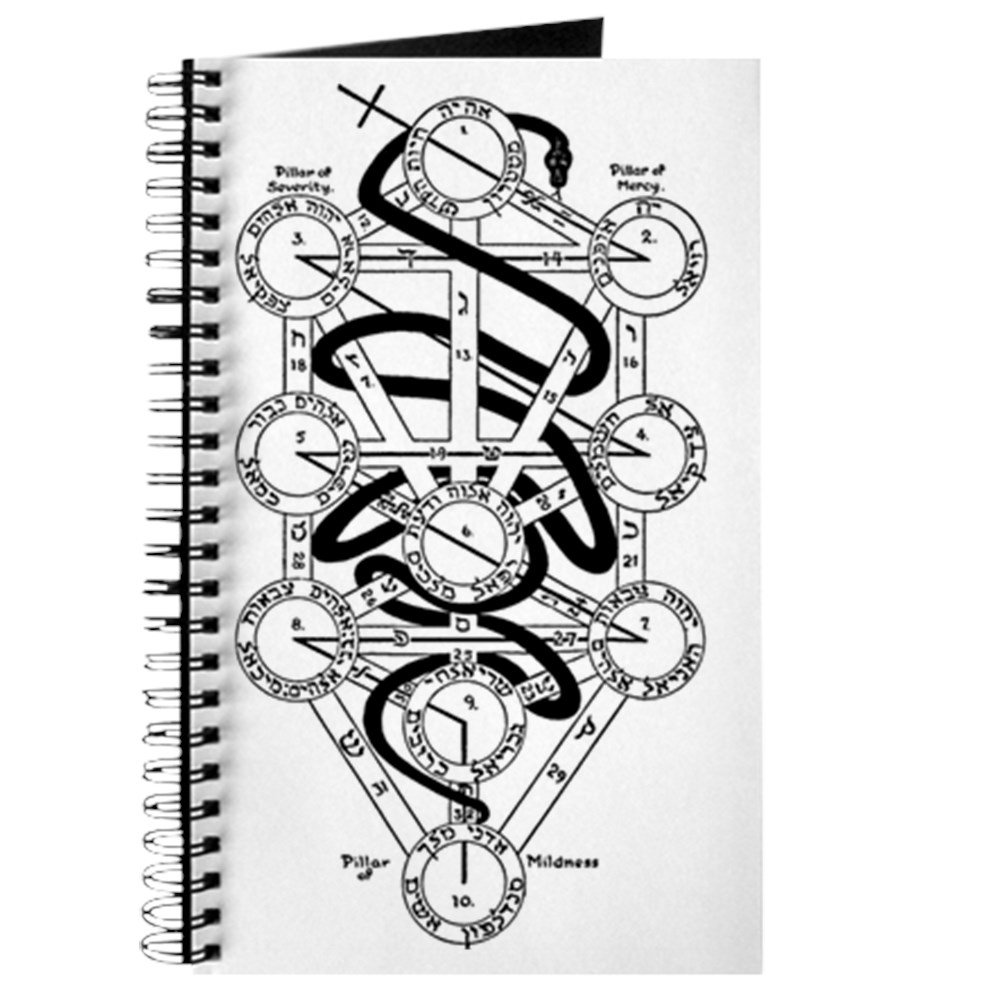 Amazon.com : CafePress - Serpent of Wisdom - Spiral Bound Journal Notebook, Personal Diary, Lined : Office Products