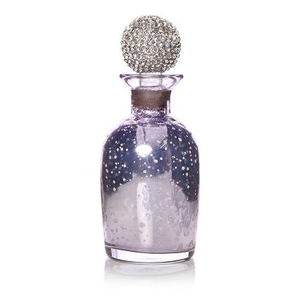 Moa Vintage Lila Cristal vacío rellenable Dispensador de perfume botella de regalo de niñas