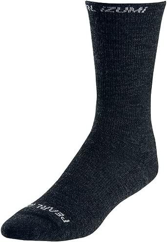 PEARL IZUMI Elite Thermal Wool Sock, Black, Large