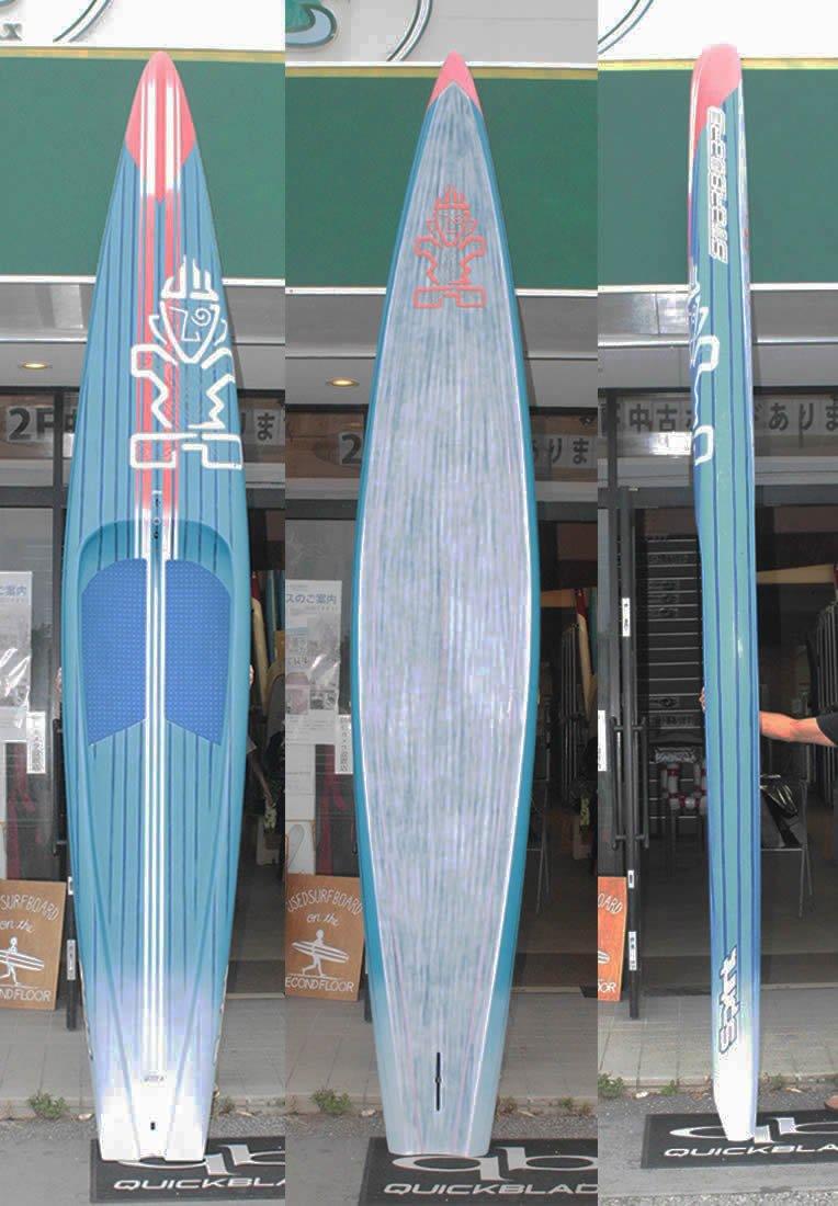 注目のブランド STARBOARD (スターボード) SPRINT CARBON モデル SANDWICH スタンドアップパドルボード SUP [BLUE SANDWICH [BLUE/ORANGE]/ORANGE] 12'6