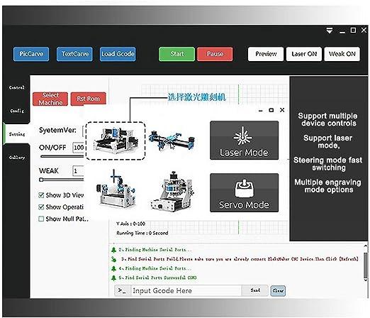 Kit de robots de dibujo XY Plotter kit de robots de escritura a mano, máquina de firma de robots de dibujo automático, eje X Y C(2500MW): Amazon.es: Oficina y papelería