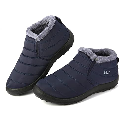 bf1fa630fc9f3 gracosy Snow Boots, Winter Warm Ankle Boots,Fur Lining Boots ...