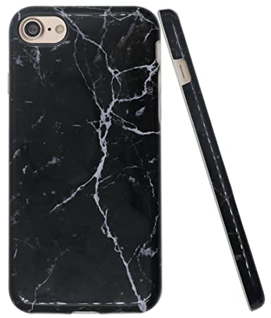black and white marble iphone 7 case
