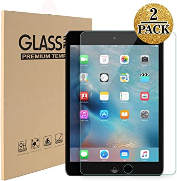 2X Premium 9H Hard Tempered Glass Screen Film Protector for iPad Mini //2 3 4//Air