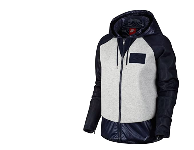 b83dab8f01ed6 Nike Mixed Material Women's Jacket (Medium): Amazon.co.uk: Clothing