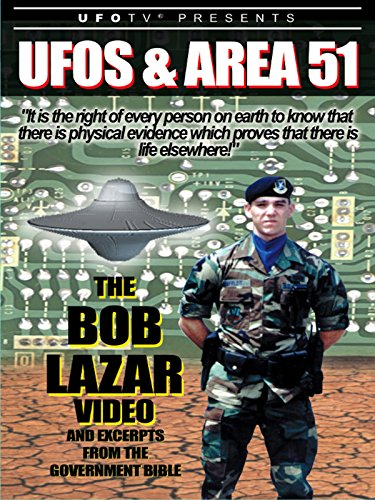 VHS : UFOs and Area 51: The Bob Lazar Video and Excerpts from The Government Bible
