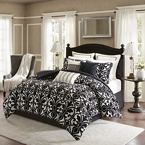 Harrison Chenille Jacquard Bedding Set by Bombay