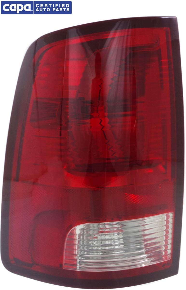CAPA Tail Light Compatible for RAM FULL SIZE P//U 2009-2018 LH Assembly Standard Type