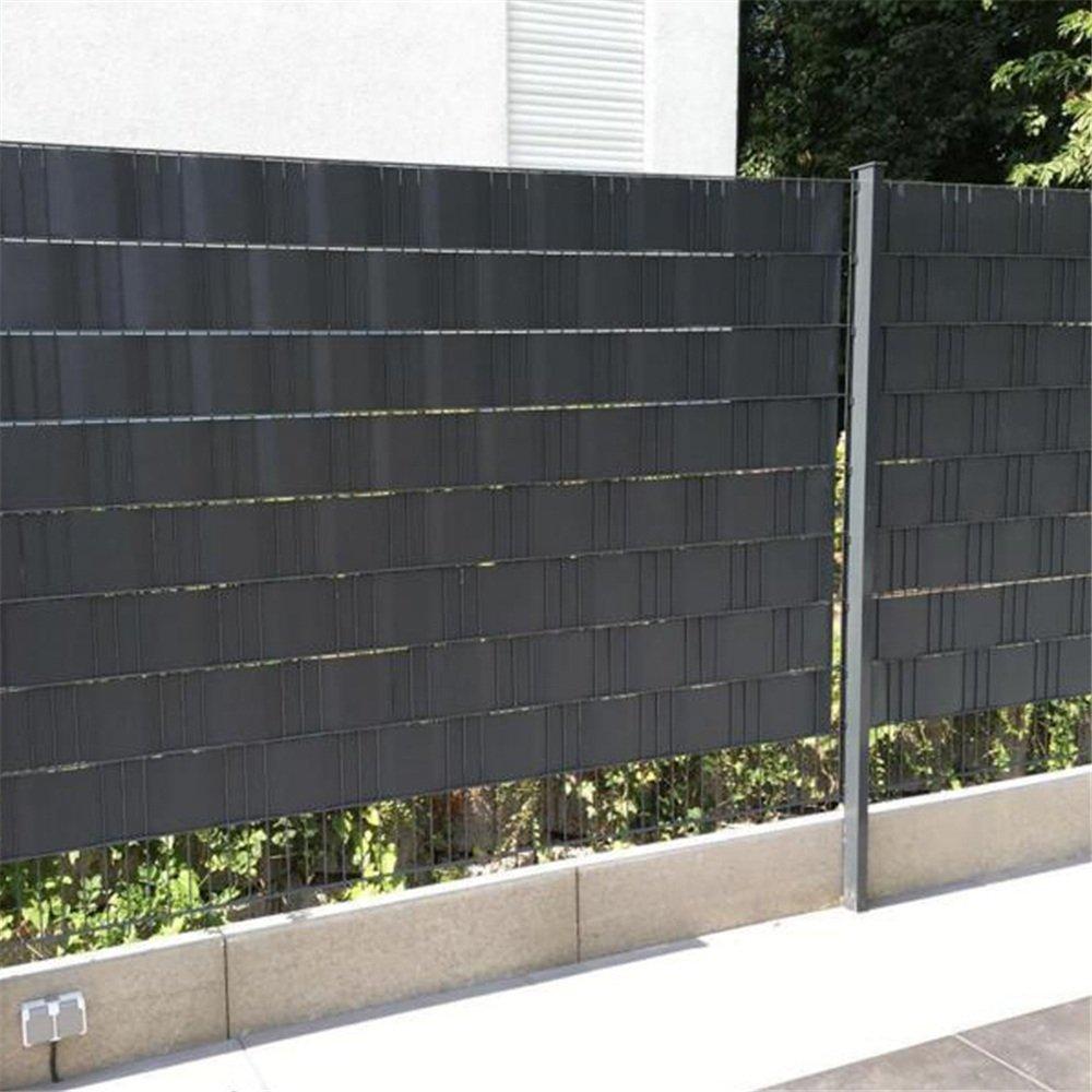 Amazon MCTECH PVC Sichtschutzstreifen Stabmattenzaun Streifen
