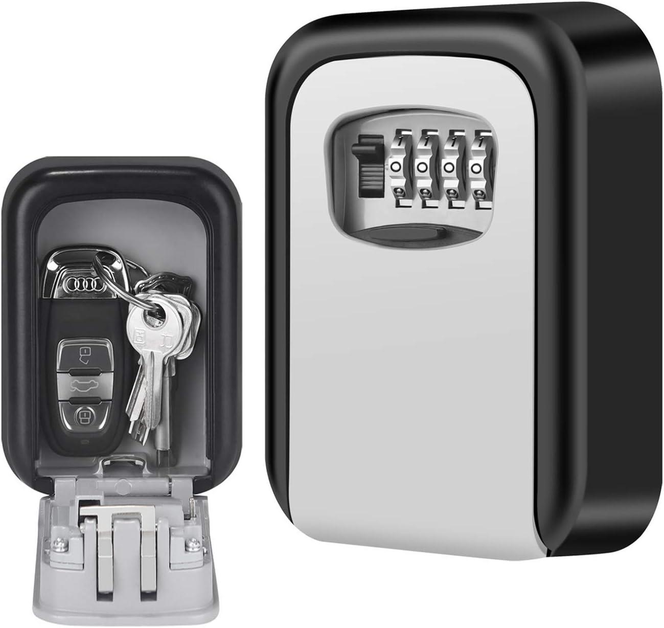 Schlüsselbox Wasserdicht Wandtresor Minitresor Wandmontage Box Schlüsselsafe